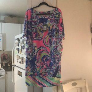 Lilly Pulitzer Lowe dress XL coastal retreat